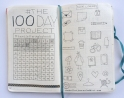 100 Day Project Tracker + Doodle icon page