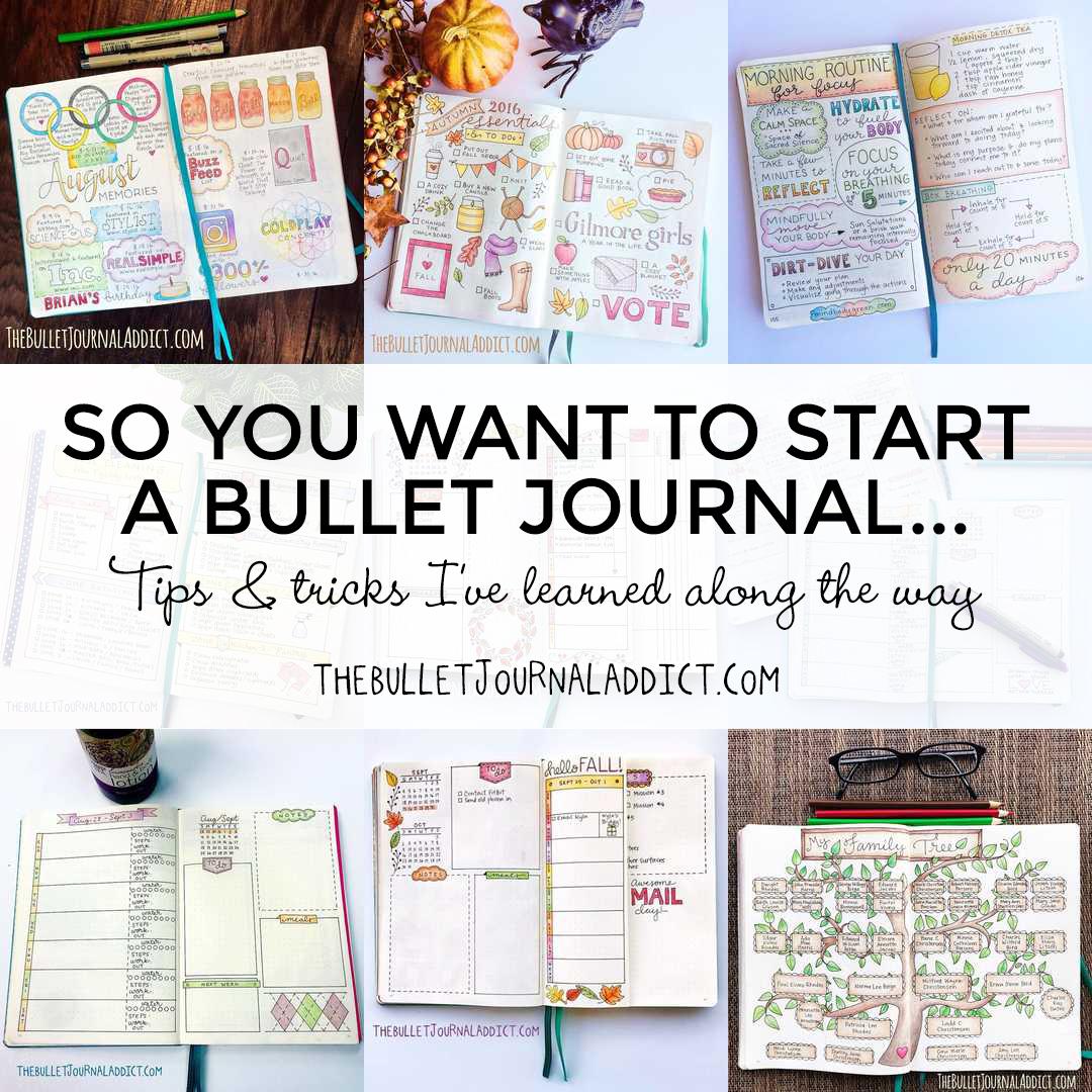 Ringed bullet journal
